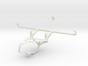Controller mount for Nimbus & Apple iPhone 6 Plus  in White Natural Versatile Plastic