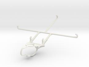 Controller mount for Nimbus & Apple iPad mini 3 -  in White Natural Versatile Plastic