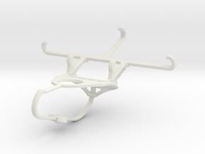 Controller mount for Nimbus & Apple iPhone 5 - Fro in White Natural Versatile Plastic