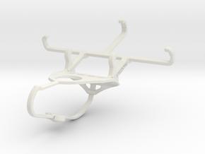 Controller mount for Nimbus & Apple iPhone 4S - Fr in White Natural Versatile Plastic