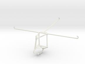 Controller mount for Nimbus & Apple iPad Pro 12.9  in White Natural Versatile Plastic