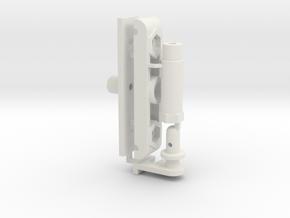 0012 - Top Force J2+6+12+13 in White Natural Versatile Plastic