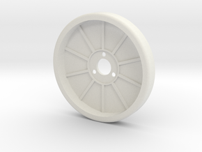 1/10 RC Offroad Setup Wheel in White Natural Versatile Plastic