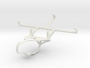 Controller mount for Nimbus & Apple iPhone 6 - Fro in White Natural Versatile Plastic