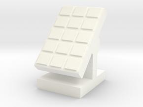 Custom Order, Solar Panel, 30mm in White Processed Versatile Plastic