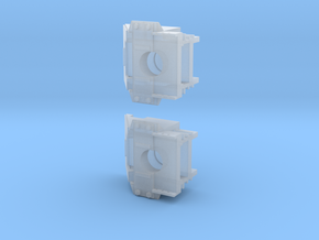 Assembly_Scale_Draft_Gear_Box_GP35 in Smoothest Fine Detail Plastic