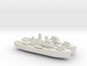 HMNZS Kiwi 1/1250 in White Natural Versatile Plastic