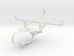 Controller mount for Nimbus & Apple iPhone 5c - Fr in White Natural Versatile Plastic