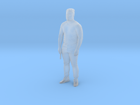 Printle C Homme 424 - 1/72 - wob in Smooth Fine Detail Plastic