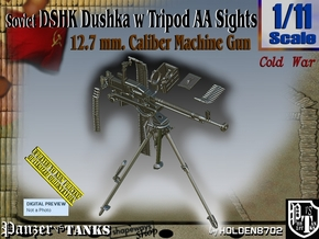 1/11 DSHK Dushka w-Tripod AA Sights  in Smooth Fine Detail Plastic