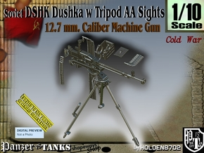 1/10 DSHK Dushka w-Tripod AA Sights  in Smooth Fine Detail Plastic