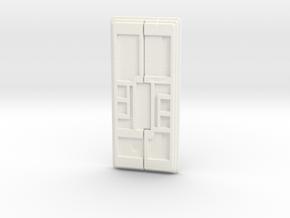 "4.5"" Kylo Ren Buckle in White Processed Versatile Plastic"