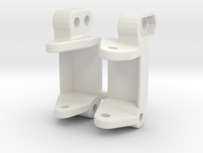 losi xx cr spindle carrier in White Natural Versatile Plastic