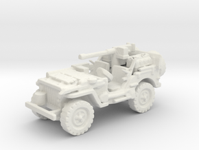 1/72 jeep SAS LRDG  2 in White Natural Versatile Plastic