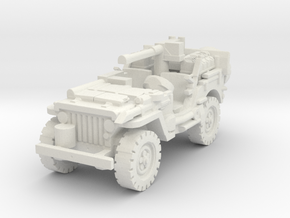 1/72 jeep SAS LRDG 3 in White Natural Versatile Plastic