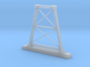 HO NSWGR Steel Bridge Trestle in Smooth Fine Detail Plastic