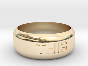 This Or That Ring in 14K Yellow Gold