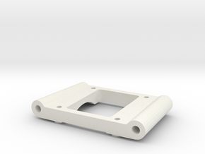 losi xx cr rear pivot block 2 degree an in White Natural Versatile Plastic