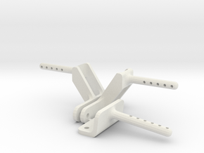 Tamiya MF01X Body Mount for monster Beetle and bli in White Natural Versatile Plastic
