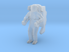 1/72 Astronaut with Jet Pack in Smooth Fine Detail Plastic
