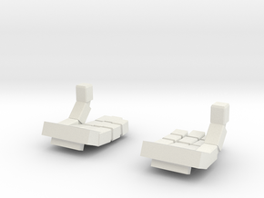 """""""OK"""" Sign Hands for MG Wing Kits in White Natural Versatile Plastic"""