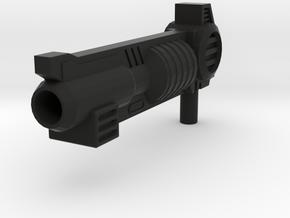 Armada Optimus Prime Gun For SC in Black Natural Versatile Plastic