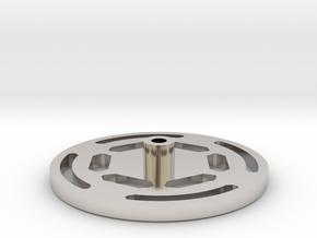 Mast. Repl. Anakin ROTS - PommelCap in Platinum