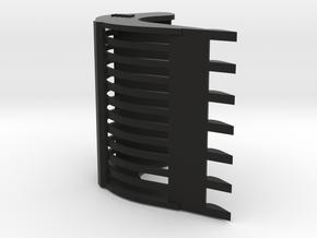 Puinriek 2,1m Versie 6 Met Tanden in Black Natural Versatile Plastic