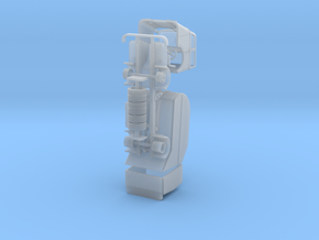 DAF A50 roltrommel variant 3 in Smooth Fine Detail Plastic