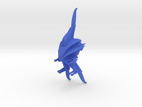 Minbari Sharlin Warcruiser Armada Scale in Blue Processed Versatile Plastic
