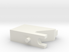 Riser in White Natural Versatile Plastic