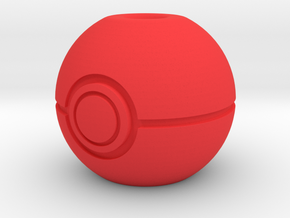 Begleri - Pokeball (1x) in Red Processed Versatile Plastic