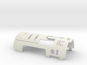 Metal Master 06 V1 (top cover) in White Premium Versatile Plastic