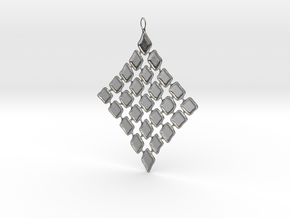 Diamond in Polished Silver