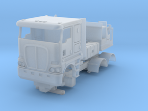 Australian Cabover Flatroof Kit in Smooth Fine Detail Plastic