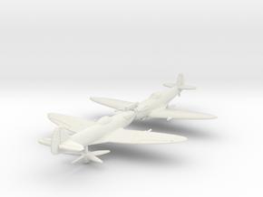 1/200 Spitfire F Mk XIVE low back in White Natural Versatile Plastic