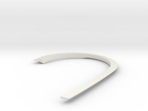 1/48 DKM Uboot VII C41 Spray Deflector in White Natural Versatile Plastic