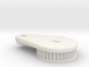 Sidewinder Custom Air Cleaner  in White Natural Versatile Plastic