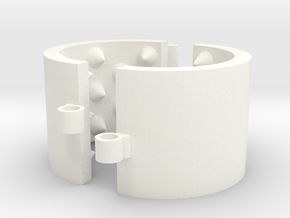 Kalis Grip 35/5/03 - 5 Rows in White Processed Versatile Plastic