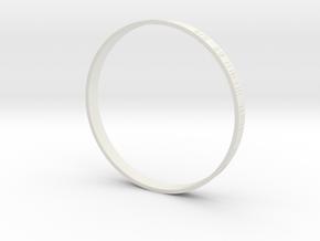 Zvesda Destroyer Main Engine Ring 1:2700 in White Natural Versatile Plastic
