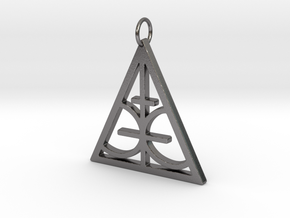 Magic Sigil  in Polished Nickel Steel