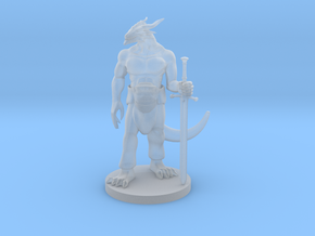 Dragonborn Great Weapon Fighter 3 in Smooth Fine Detail Plastic