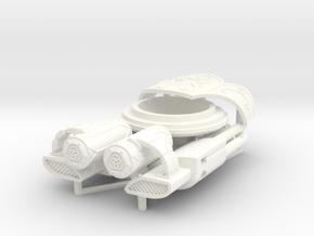 Banisher Missile Launcher in White Processed Versatile Plastic