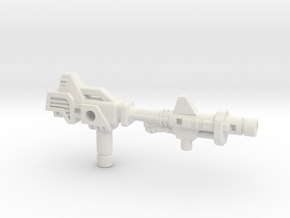 Metalhawk / Vector Prime Gun (3mm, 5mm) in White Natural Versatile Plastic: Small