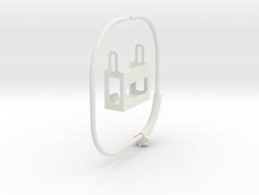 GoPRO Mount for Neck (for HERO3) in White Natural Versatile Plastic: Medium