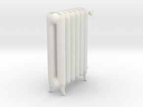 Printle Thing Plain-radiator - 1/24 in White Natural Versatile Plastic