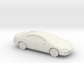 1/24 1999 Dodge Intrpide in White Natural Versatile Plastic