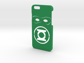 Green Lantern Phone Case-iPhone 6/6s in Green Processed Versatile Plastic