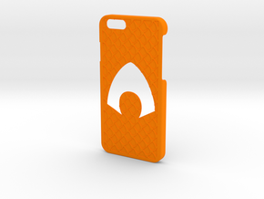 Aquaman Phone Case-iPhone 6/6s in Orange Strong & Flexible Polished