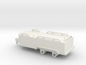 1/64 v nose fuel trailer in White Natural Versatile Plastic